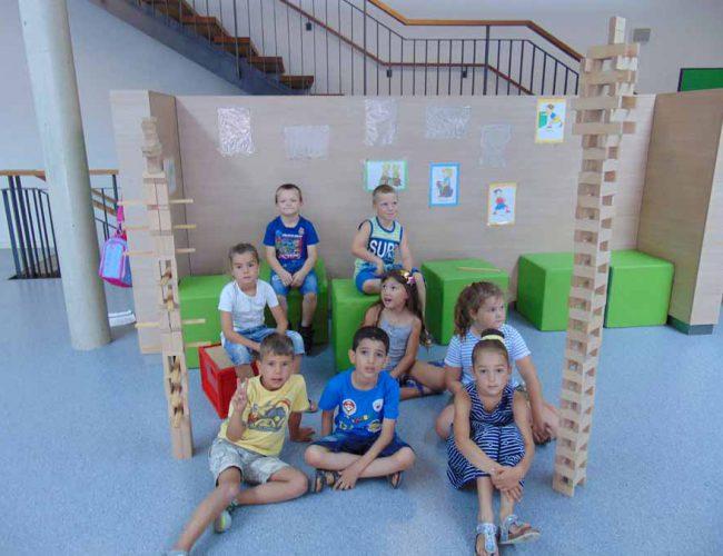 Türme bauen (1. Klasse), Juli 2018