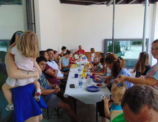 Klassenfest der 2. Klasse, Juli 2018