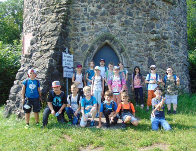 Burg Husen und Abenteuerweg Hausach (3. Klasse); Juli 2021